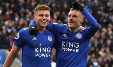 Premier League: Με Μπαρνς, Βάρντι η Λέστερ, 4-0 την Άστον Βίλα (highlights)