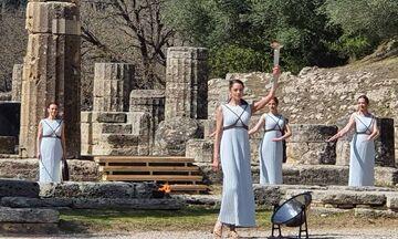 Τελετή Αφής της Ολυμπιακής Φλόγας: Χωρίς προβλήματα η τελική πρόβα! (pics)