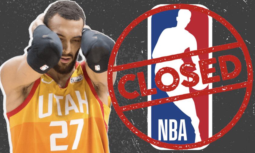 Κορονοϊός: Αναβλήθηκε η σεζόν στο NBA - Θετικός ο Γκομπέρ των Γιούτα Τζαζ