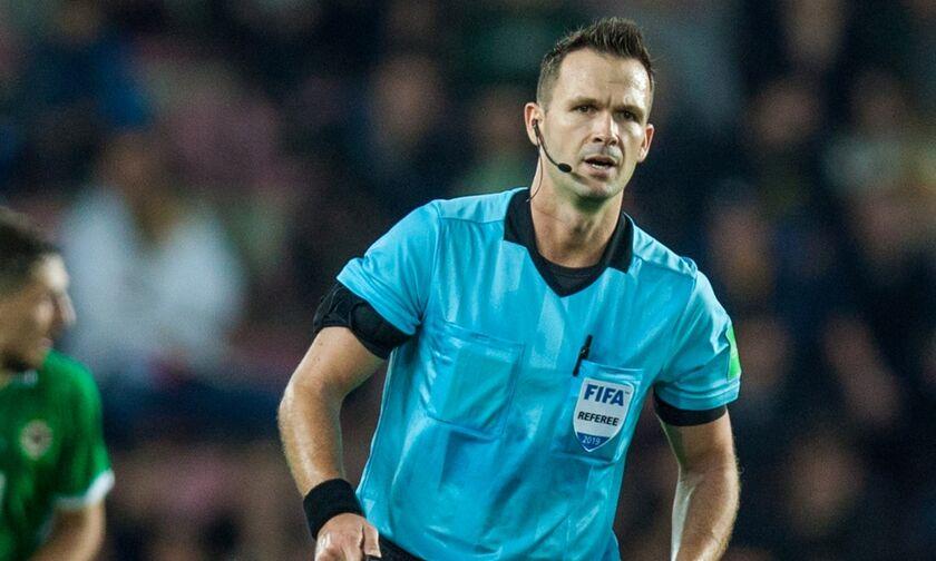 ΠΑΟΚ - Ολυμπιακός: Ο Σλοβάκος Κρούζλιακ διαιτητής στην Τούμπα