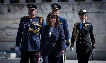 Κατερίνα Σακελλαροπούλου: Ορκίστηκε Πρόεδρος της Δημοκρατίας (pics & vid)