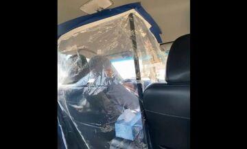 Η λύση για τον κορονοϊό στο αυτοκίνητο!