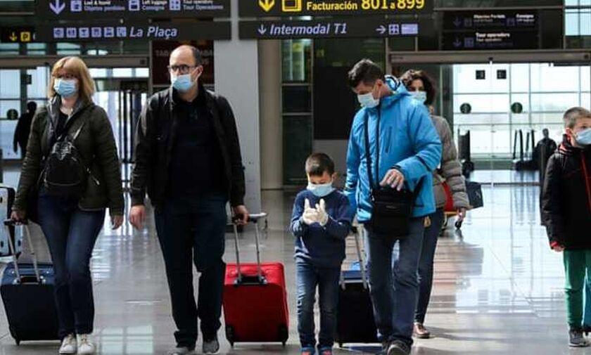 Κορονοϊός: Απαγορεύτηκαν οι πτήσεις για Ισπανία, πρόστιμα 5.000, ατομική λατρεία στις εκκλησίες