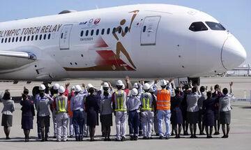 Έρχεται στην Αθήνα το αεροσκάφος που θα μεταφέρει την Ολυμπιακή Φλόγα στην Ιαπωνία