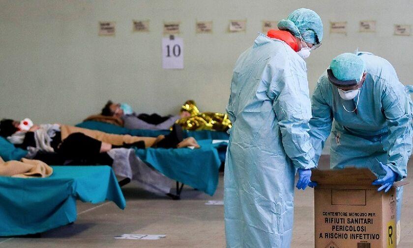 Κορονοϊός στην Ιταλία: Μόνο την Τετάρτη (18/3) 475 νεκροί