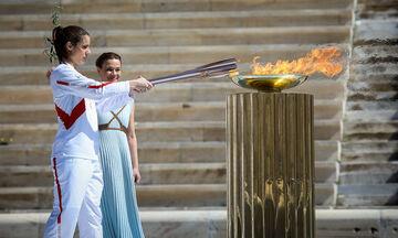 Το μήνυμα της Στεφανίδη για τη Φλόγα και για τους Ολυμπιακούς του Τόκιο (vid)