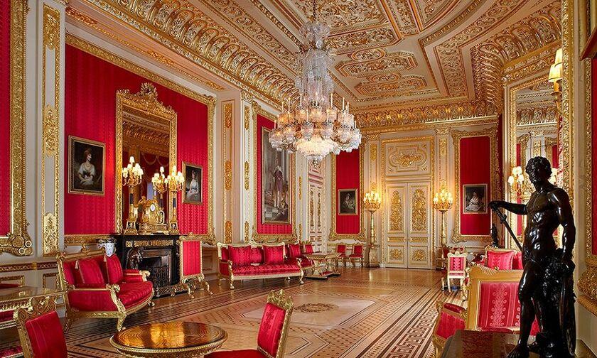 Ο εγκλεισμός της βασίλισσας της Αγγλίας, Ελισάβετ Β'  - Δείτε το κάστρο του Ουίνδσορ (vid)
