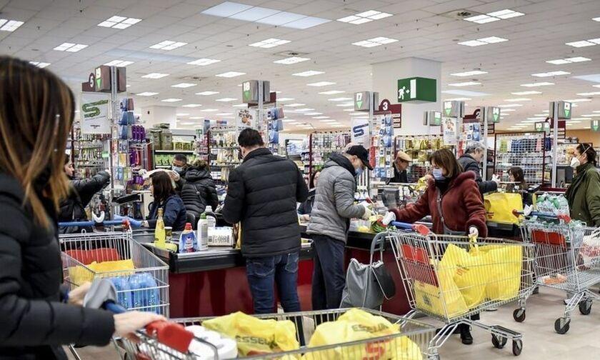 Σούπερ μάρκετ: Τριπλάσιος ο ανεφοδιασμός στα τρόφιμα έως την προηγούμενη εβδομάδα!