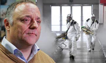 O Βέλγος λοιμοξιωλόγος Μαρκ Βαν Ράνστ, προβλέπει διάρκεια 10 εβδομάδων