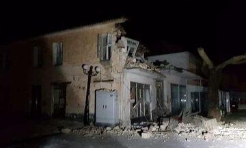 Σεισμός 5,6 Ρίχτερ στην Πάργα: Ζημιές σε σπίτια, καταστήματα-Χωρίς ρεύμα η περιοχή-Οι πρώτες εικόνες