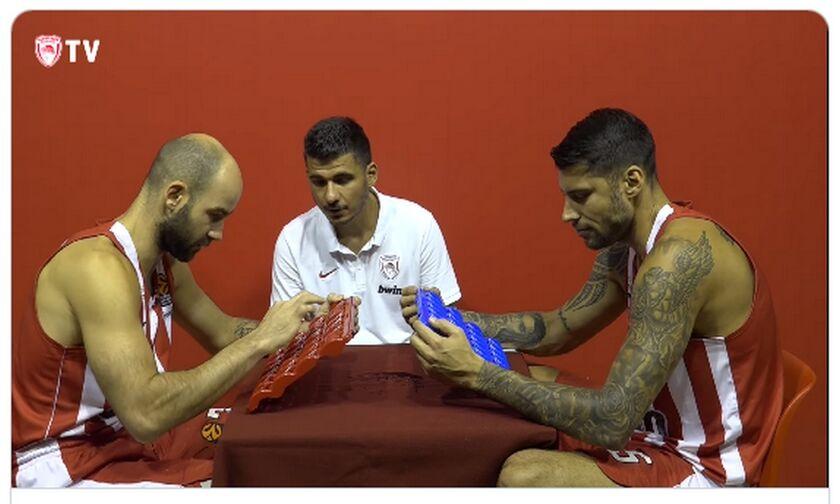 Ολυμπιακός: Μάντεψε Ποιος - Σπανούλης VS Πρίντεζης (vid)
