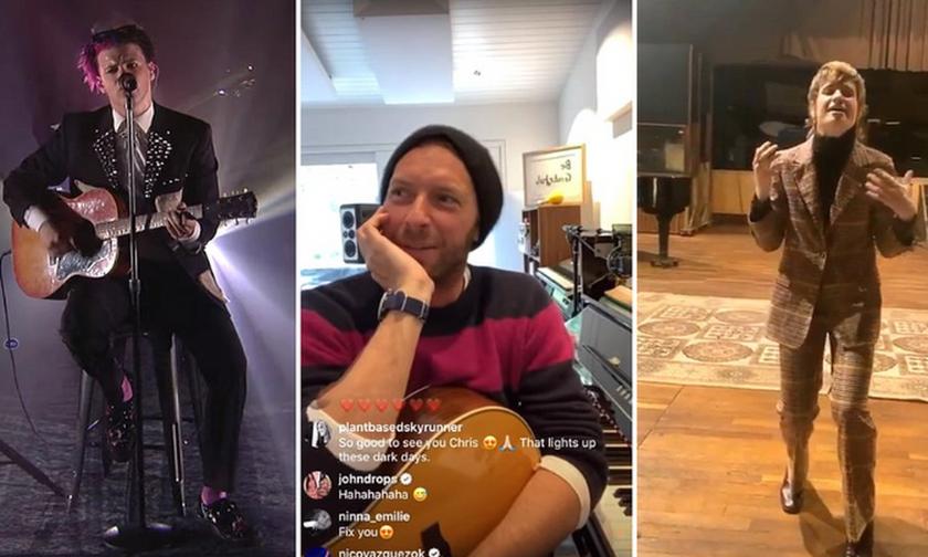 Κορονοϊός: Οι μουσικοί δίνουν διαδικτυακές παραστάσεις (vid)