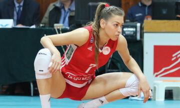 «Μένουμε σπίτι, Ζήσε αθλητικά», με τη  βολεϊμπολίστρια του Ολυμπιακού, Τζίνα Λαμπρούση (vid)