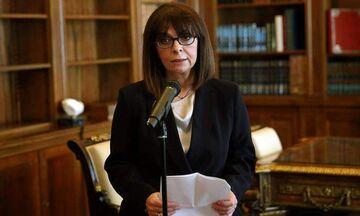 Τηλεοπτικό διάγγελμα σήμερα Τρίτη (24/3) από την Πρόεδρο της Δημοκρατίας, Αικατερίνη Σακελλαροπούλου