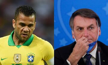 Βραζιλία: Κριτική του Ντάνι Άλβες στον Μπολσονάρου για τον κορονοϊό