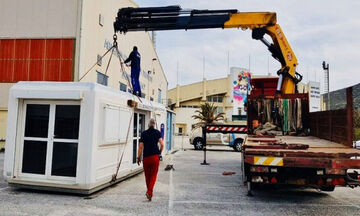 Φοίνικας Σύρου: Η δωρεά του συλλόγου στο Νοσοκομείο Σύρου