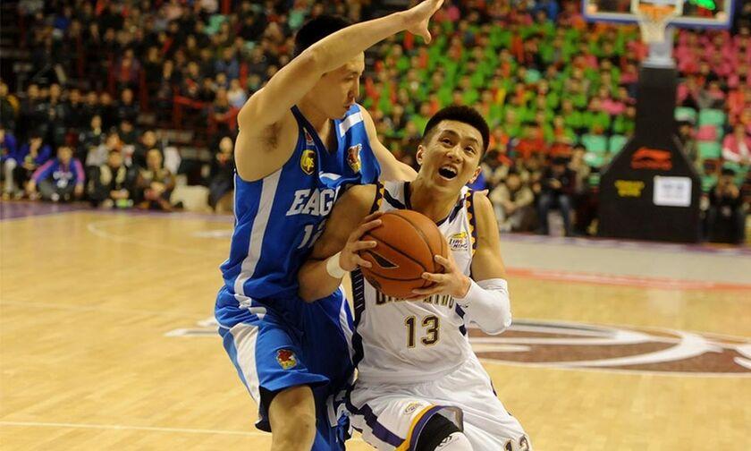 Στον... αέρα το πρωτάθλημα μπάσκετ της Κίνας