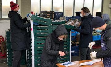 Μπάγερν: Μοίρασε τρόφιμα σε άπορους (pics)