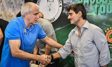Ο Δημήτρης Γιαννακόπουλος για την επιστροφή του Ολυμπιακού στην Α1 και τον Ζέλικο Ομπράντοβιτς