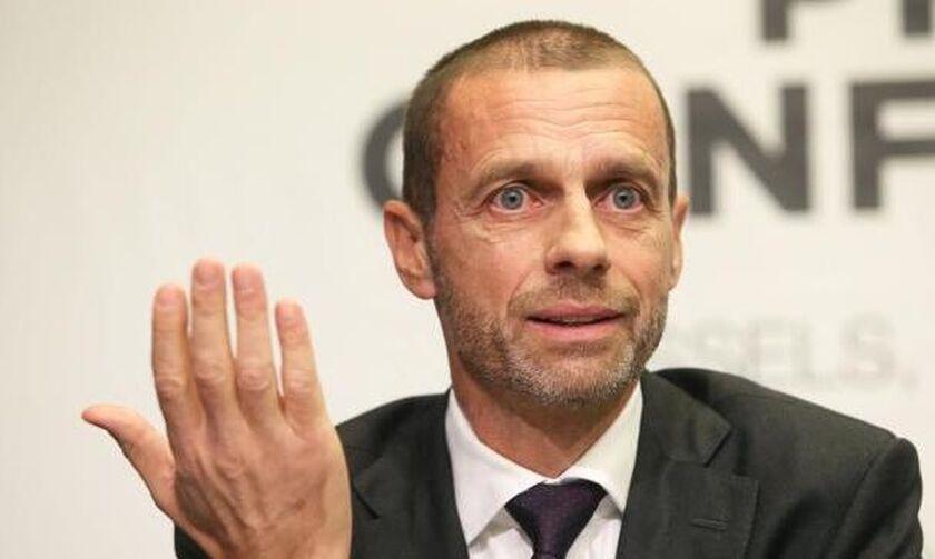 Οι τρεις επιλογές της UEFA σύμφωνα με τον πρόεδρό της Αλεξάντερ Τσέφεριν