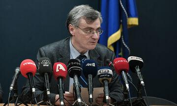O Tσιόδρας έδωσε οδηγίες προς δημοσιογράφους και για ψυχολογική στήριξη (vid)