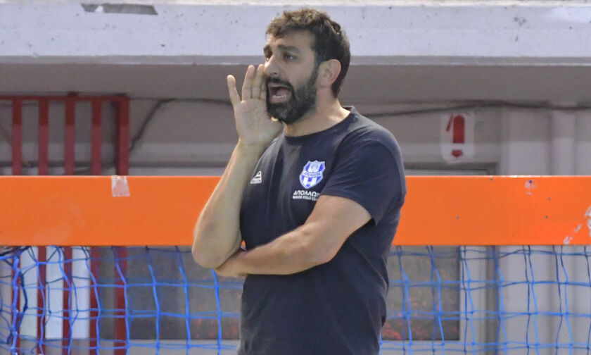 """Ο προπονητής του Απόλλωνα Σμύρνης, Γιάννης Κατρουζανάκης, """"μένει σπίτι"""""""