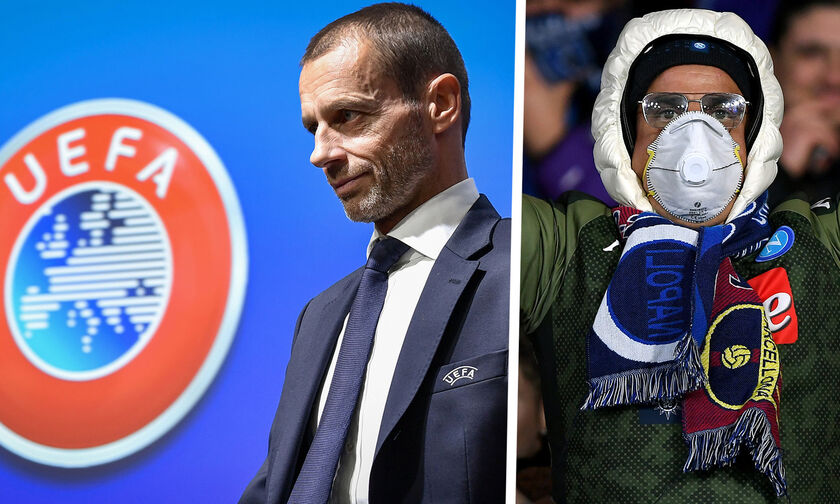 UEFA: Τα 3 σχέδια για την ολοκλήρωση της σεζόν!