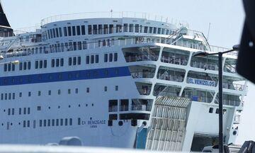 Κορονοϊός: 119  κρούσματα στο πλοίο «Ελευθέριος Βενιζέλος» ανοιχτά του Πειραιά