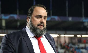 Παρέμβαση Μαρινάκη στην πρόταση Αλαφούζου για διακοπή της Super League