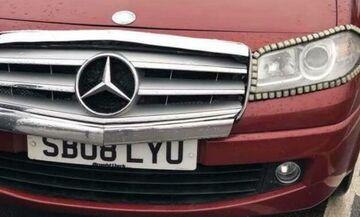Τι αυτοκίνητο κρύβει αυτή η «Mercedes»;