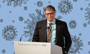 Bill Gates: Έτοιμος να χάσει δισεκατομμύρια για την καταπολέμηση του κορονοϊού (vid)