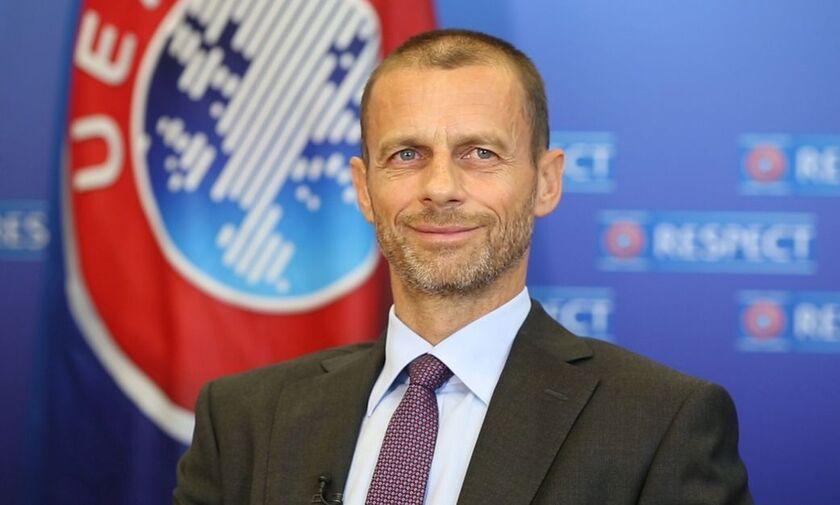 Τσέφεριν: «Μέχρι τις 3 Αυγούστου πρέπει να ολοκληρωθούν όλες οι διοργανώσεις»