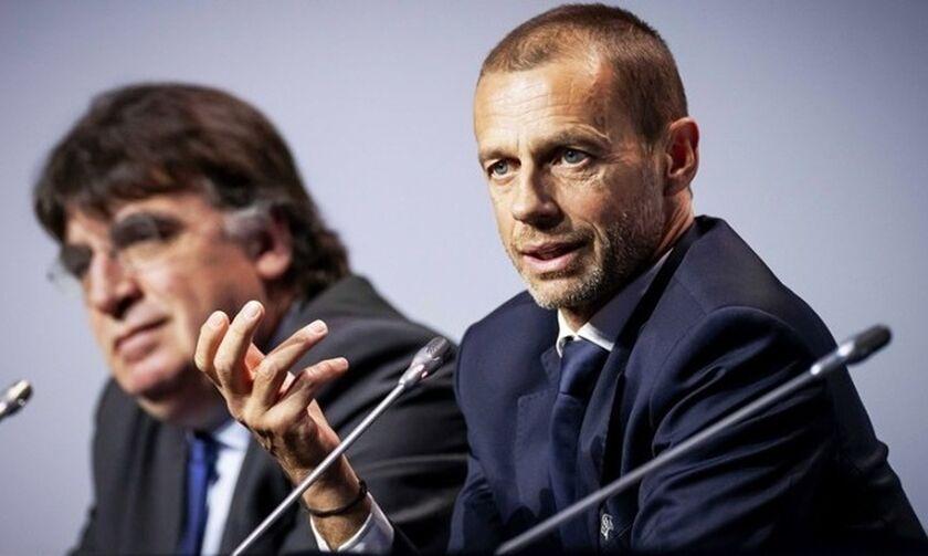 Τσεφέριν: «Πού πηγαίνουν τα χρήματα της FIFA για την οικονομική βοήθεια κατά του κορονοϊού;»