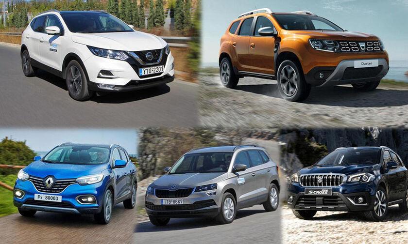 Τα φθηνότερα μικρομεσαία SUV έως 20.000 ευρώ