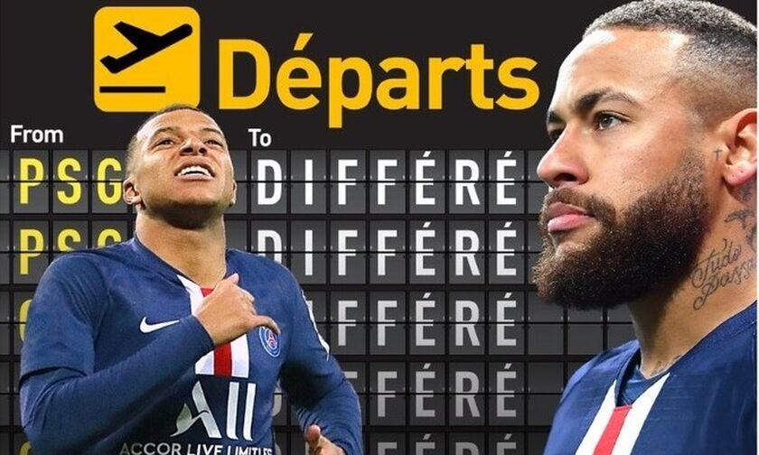«Ο κορονοϊός κρατάει Νεϊμάρ και Εμπαπέ στο Παρίσι»