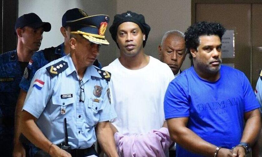 Ροναλντίνιο: Βίντεο με χαιρετίσματα από τη φυλακή! (vid)