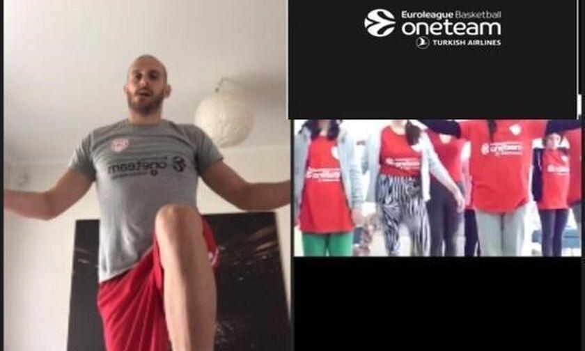 Ολυμπιακός: Συνεχίζεται… online η δράση της One Team (pics-vid)
