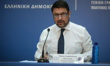 Χαρδαλιάς: «Καμία χαλάρωση των μέτρων μέχρι τις 27 Απριλίου» (vid)