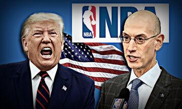 Κορονοϊός: Καταστροφική διαχείριση Τραμπ για ΗΠΑ και NBA