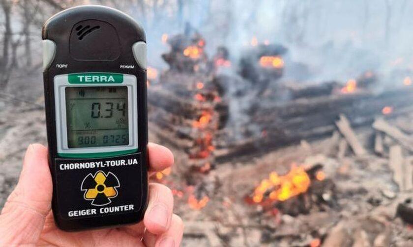 Φωτιά στο Τσέρνομπιλ: Οι ραδιολογικές μετρήσεις για την Ελλάδα