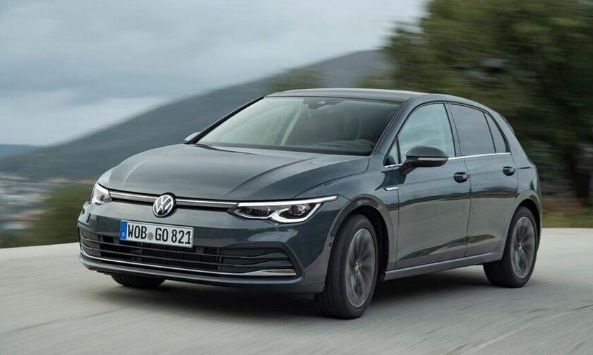 Ανακοινώθηκαν οι επιδόσεις του βασικού VW Golf