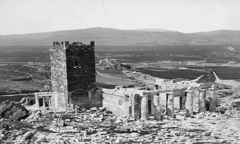 Φως στην Ελλάδα: Ο άγνωστος γιγάντιος πύργος του Παρθενώνα που δεν υπάρχει πια!