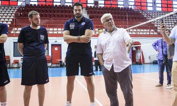 Καραμπέτσος και Γκιούρδας υποψήφιοι για τα όργανα των FIVB και CEV αντίστοιχα