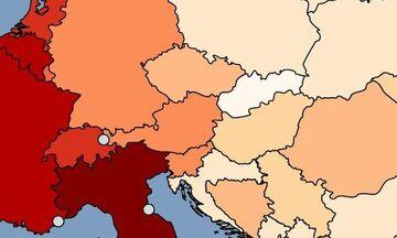 Κορονοϊός: Η Ελλάδα κάτω από τον παγκόσμιο μέσο όρο θανάτων από κορονοϊό