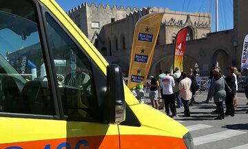 Ο Διεθνής Μαραθώνιος Ρόδου στηρίζει το ΕΚΑΒ στην καταπολέμηση του κορονοϊού