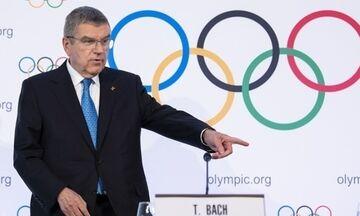 Μπαχ: «Μας πήρε μόνο τρεις ημέρες να συμφωνήσουμε για την αναβολή των Ολυμπιακών Αγώνων»
