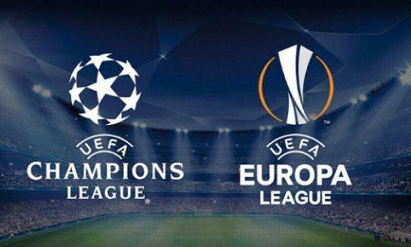 Champions και Europa League τον Αύγουστο με μονά ματς και ουδέτερες έδρες!