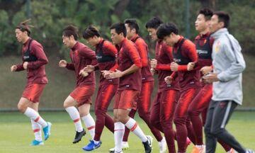 Καραντίνα δίχως τέλος για την εθνική ομάδα της Κίνας