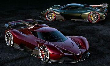 Εξωπραγματική Alfa Romeo 8C-R Tazio! (pics)