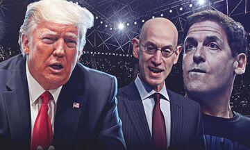 Κορονοϊός: Σίλβερ και Κιούμπαν στην επιτροπή Τραμπ για την ανάκαμψη της οικονομίας